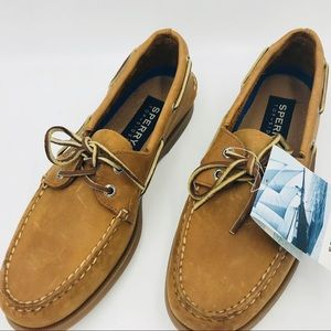 SPERRY GET WET NAUTICAL COLLECTION Men's 9.5 NWT